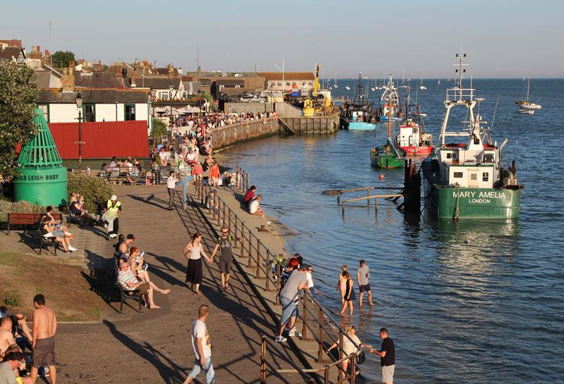 Old Leigh on Sea In the Summer